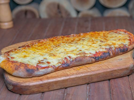 Pizza con muzzarella (50 cm)