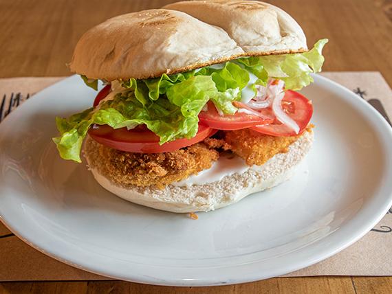 Sándwich premium fish
