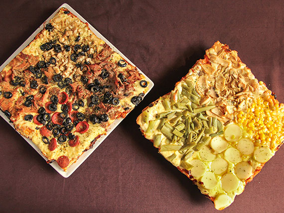 Promo 5 - 2 pizzas medianas