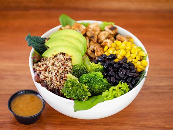 Quinoa chicken bowl