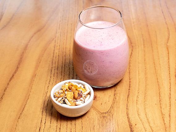 Yogurt & frutillas