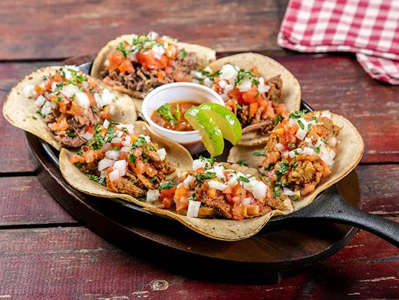 Promo - Bandeja mexicana (6 tacos)