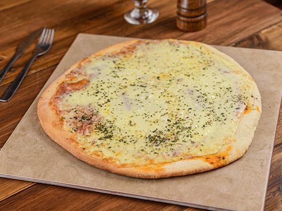 Pizza con muzzarella (32 cm)