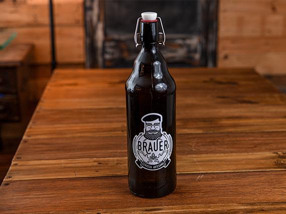 Growler 1 L cerveza Brauer