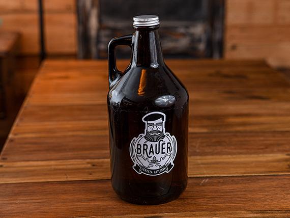 Growler 2 L cerveza Brauer