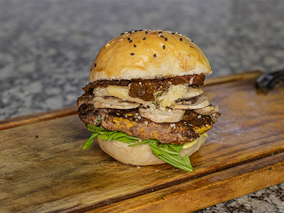 Hamburguesa de carne queen