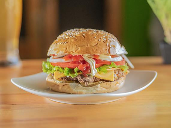 The California burger