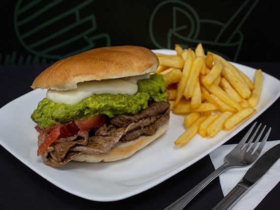 Promoción 3 - Churrasco a elección + papas fritas