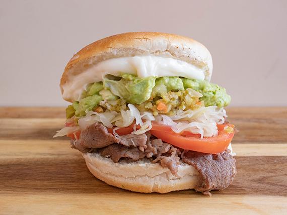 Sándwich Churrasco Dinámico