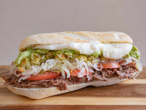 Sándwich Mechada Italiana