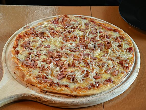 Pizzeta bacon sweet