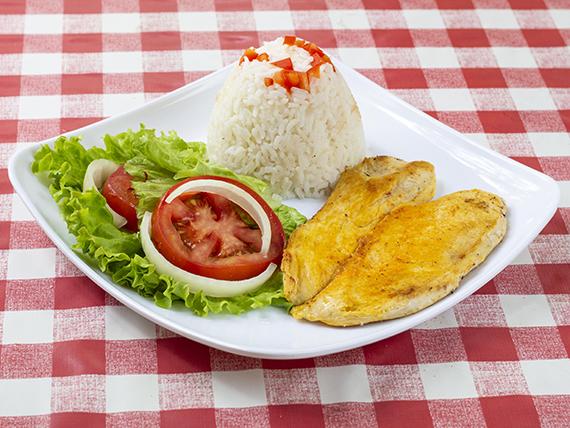 Almuerzo de Pollo a la Plancha