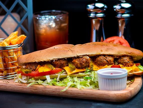 Combo - Sándwich kudo de carne