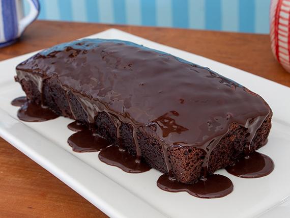 Budín de chocolate fudge cake