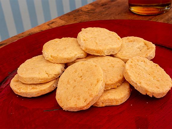 Parmesan cookies (12 unidades)
