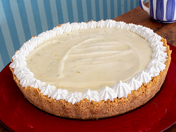 Torta key lime pie