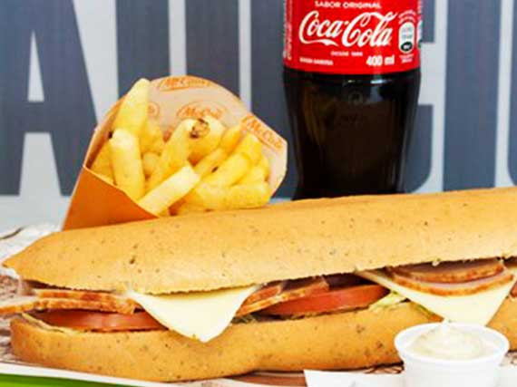 Sandwich de Pernil Ahumado