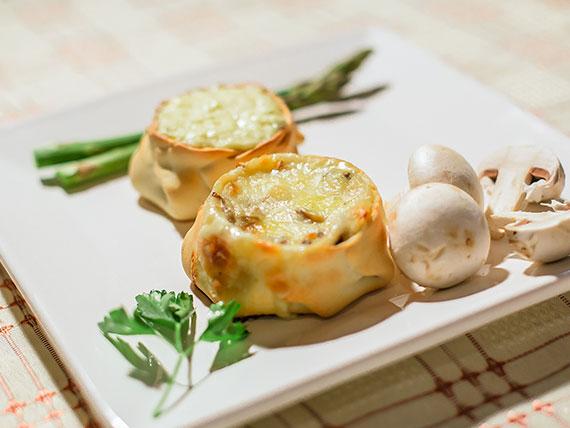 Empanada champignon