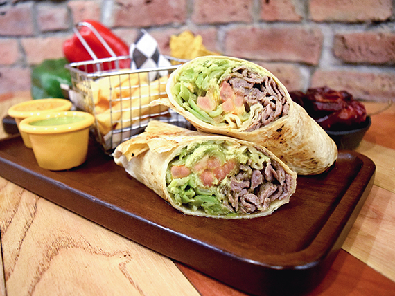 Burrito chacarero