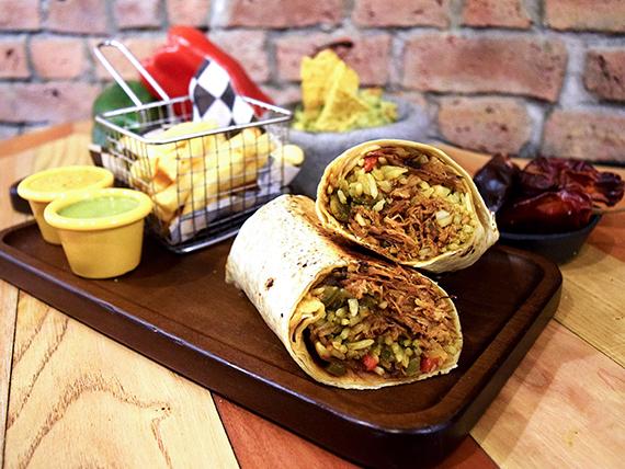 Burrito órale güey