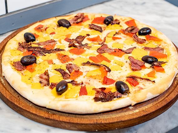 Pizza bacon & cheddar