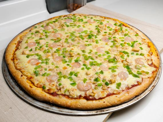 Pizza mar y tierra