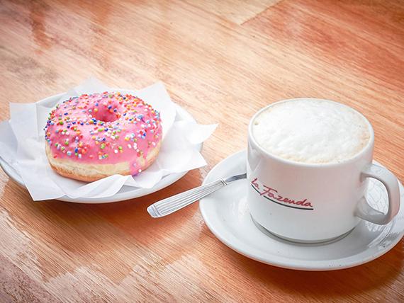 Goloso - Infusión + Donut