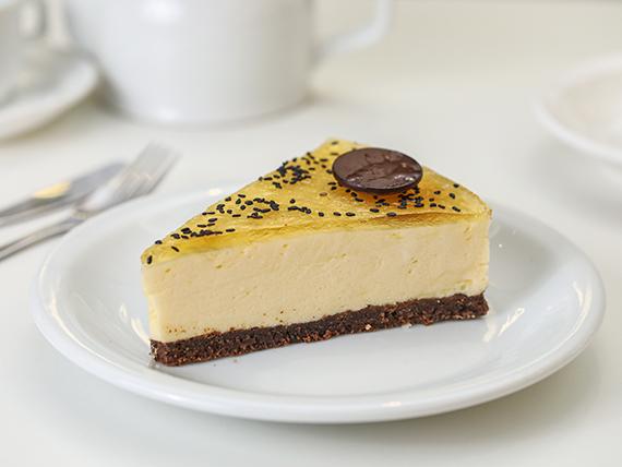 Torta de maracujá  (porción)
