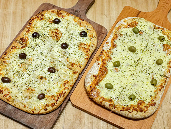 Promo - 1 pala mozzarella + 1 pala fugazzeta