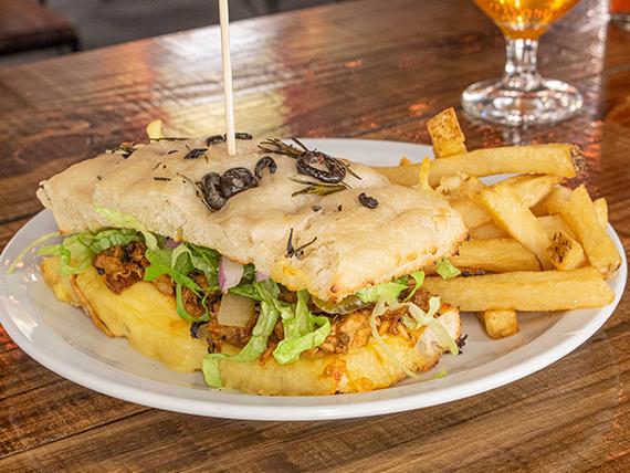 Cuban pork sándwich