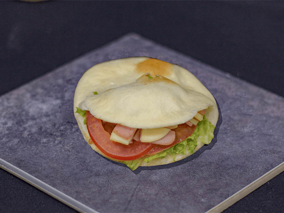 Pan de pita olímpico