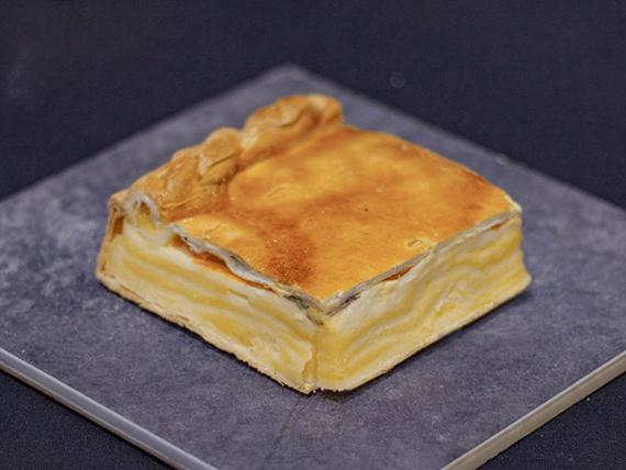Tarta capresse (porción)