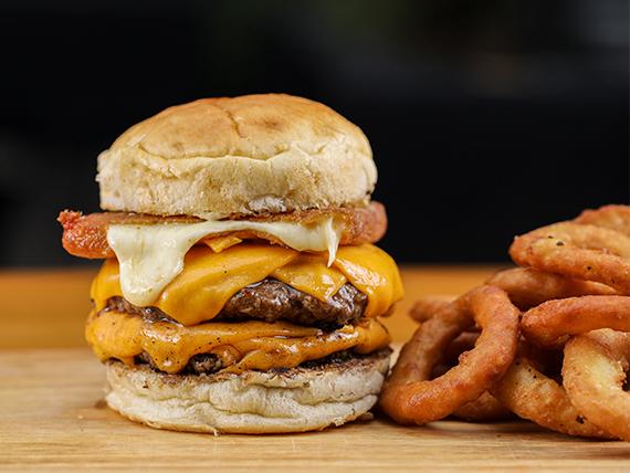 #2 Cheesy Bear Burger