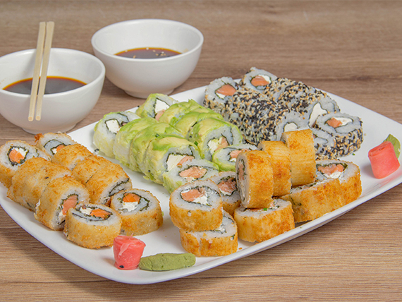 Promo 40 piezas salmón