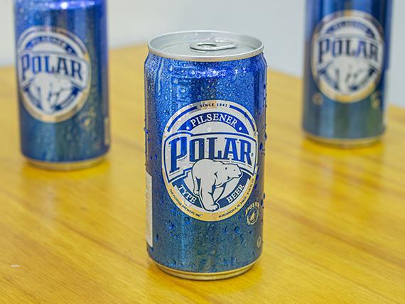Cerveza polar en lata 255 ml