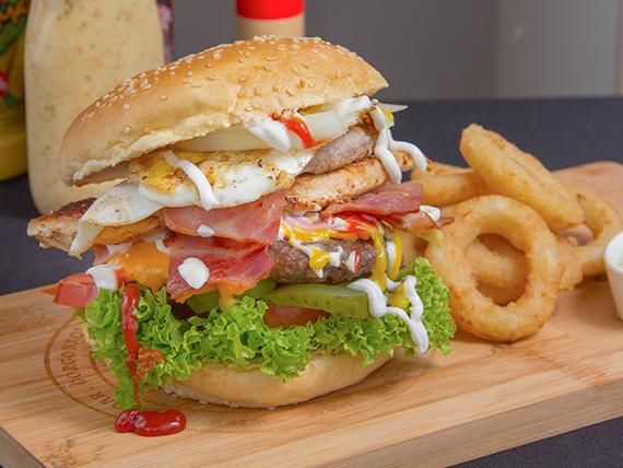 Bistro burger full