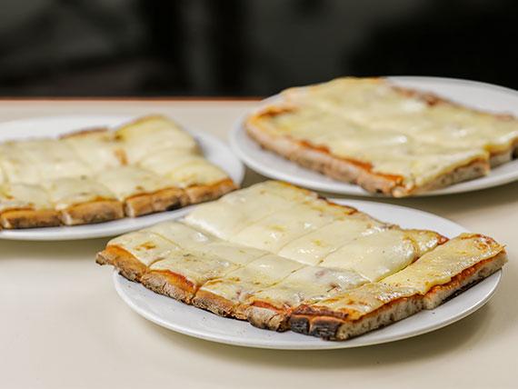 Promo - 3x2 en pizza, muzzarella, figazza o fainá
