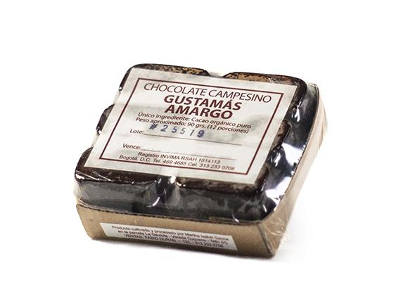 Chocolate 100% Puro Amargo  90 Gr