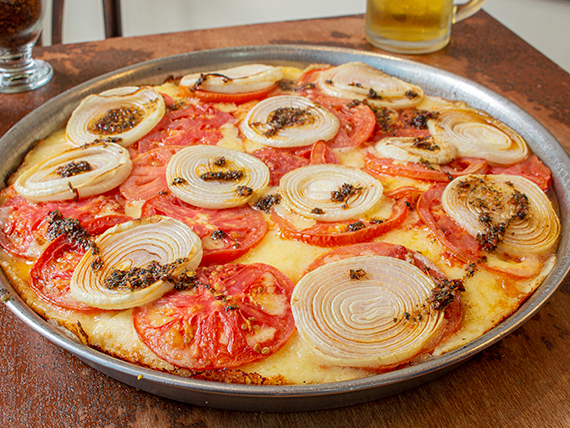 Pizza mozzarella a la napolitana