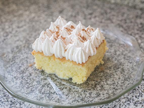 Torta 3 leches (individual)
