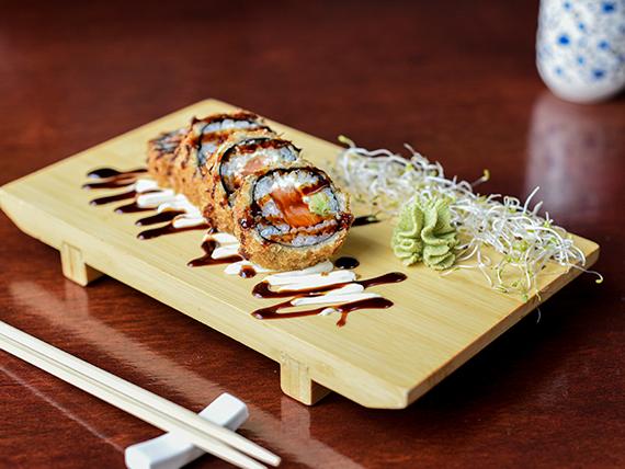 Hot maki roll (8 piezas)
