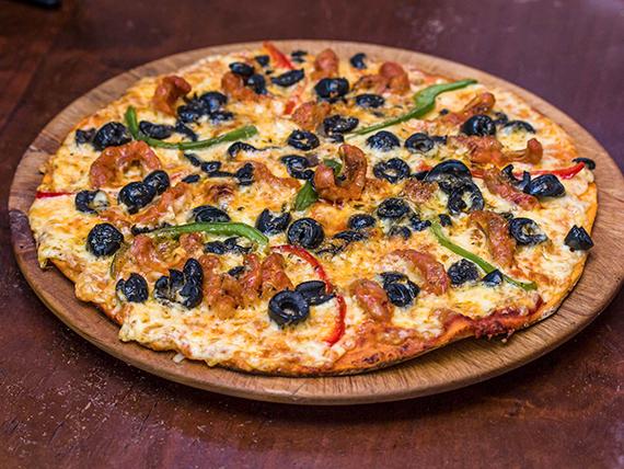 Pizza pequeña española