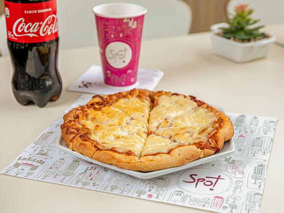 Combo - Pizzeta individual + Coca Cola 600 ml