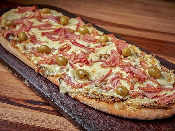 Pizza fugazza especial