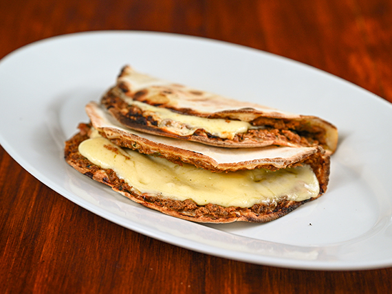 Lehmenyun con muzzarella (2 undiades)