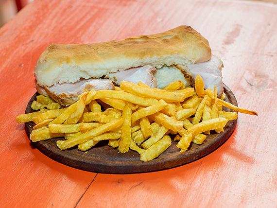 Promo 10 - Sándwich de vacío o bondiola + guarnición