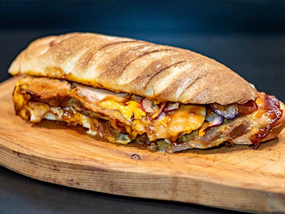 Sándwich american bbq