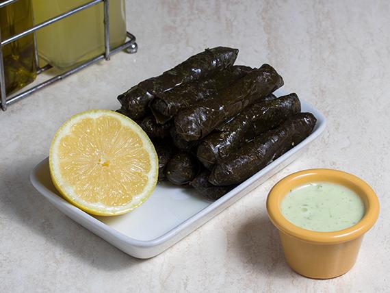 Hojas de parra vegetarianas Yalanji (4 unidades)