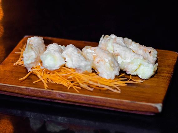 Geishas en tempura (6 unidades)
