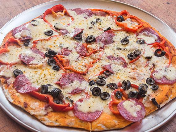 """Pizza """"la roja"""" - Familiar (36 cm)"""